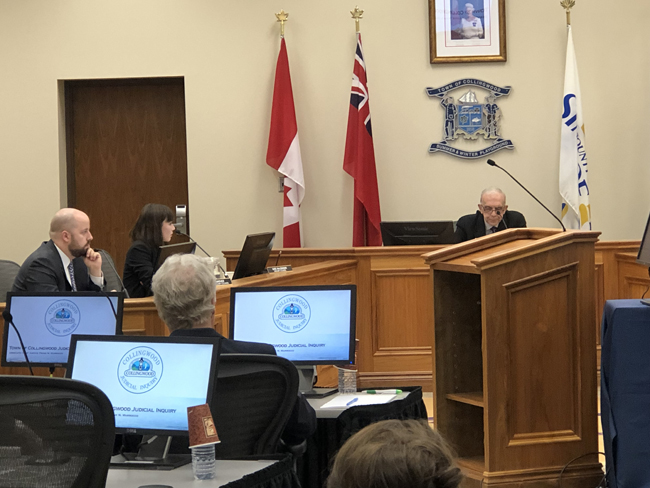 The Inquiry's public hearings started on April 15, 2019